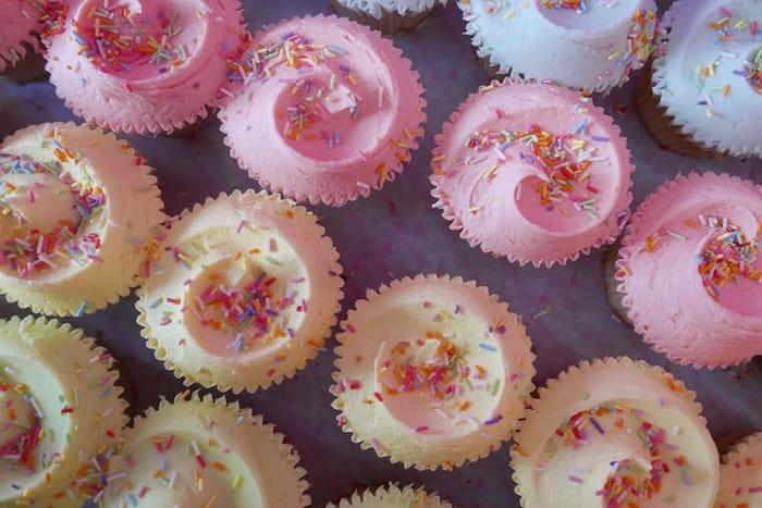 Hummingbird Bakery - Free Cupcake at Spitalfields Bakery