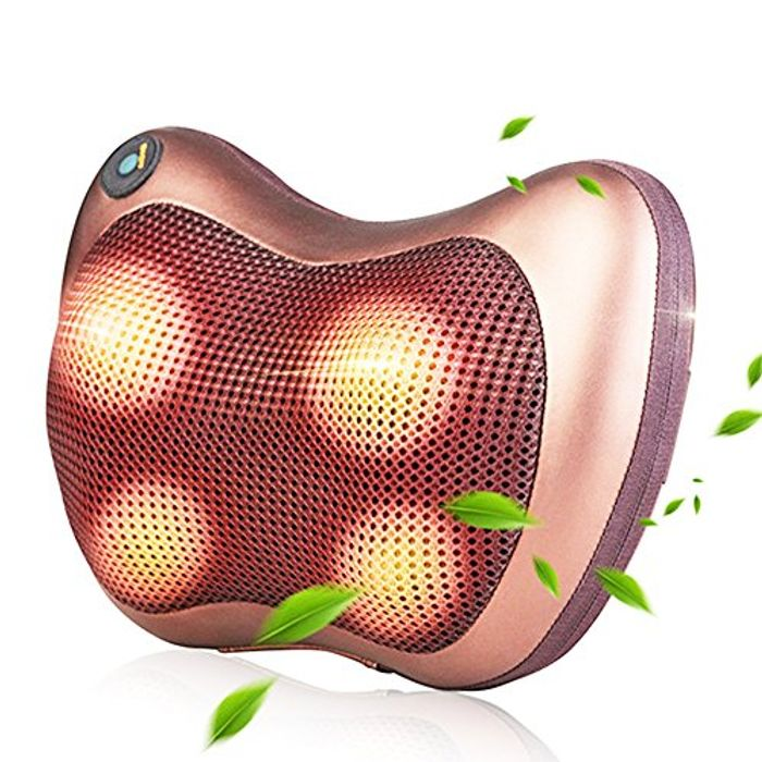 Neck Massage Pillow with Heat to Relieve Pain