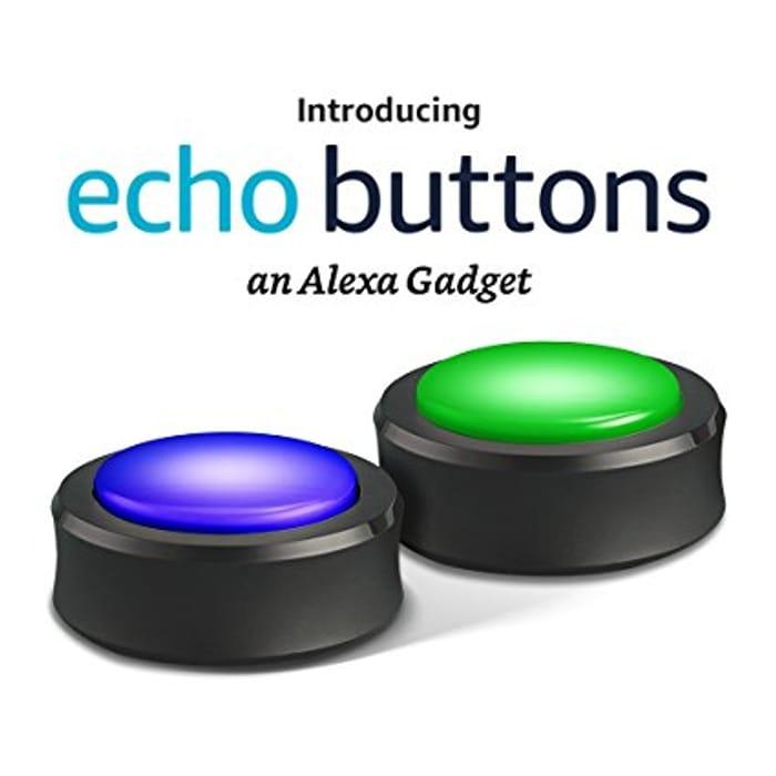 Echo Buttons, an Alexa Gadget [2 Pack]