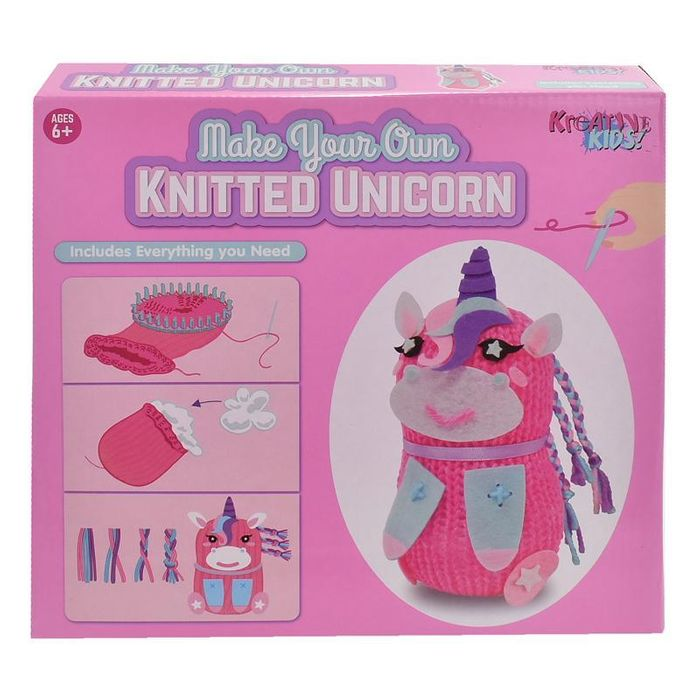 Make Your Own Knitted Unicorn Set