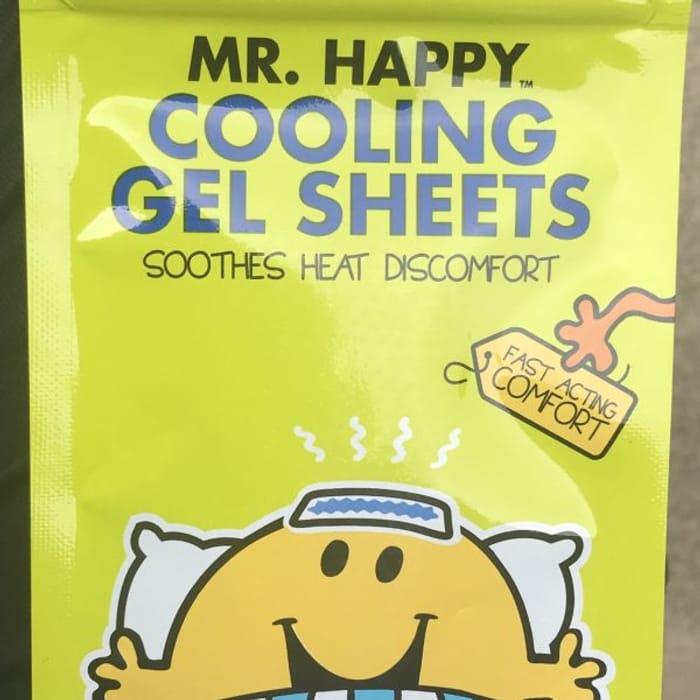 Mr Happy Cooling Gel Sheets