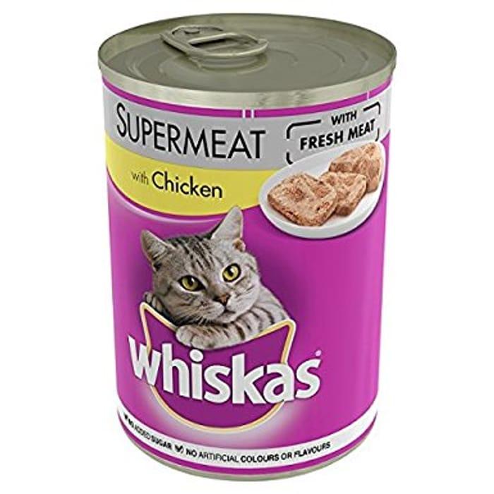 Whiskas Supermeat with Chicken 390g