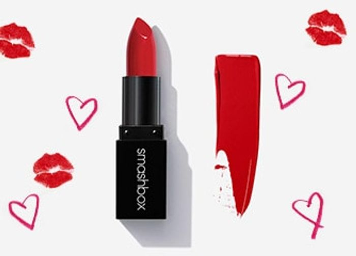 Free Lipstick at Smashbox - with ANY Purchase