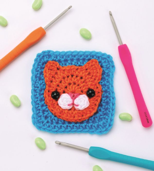 Cat Granny Square (DOWNLOAD PATTERN)