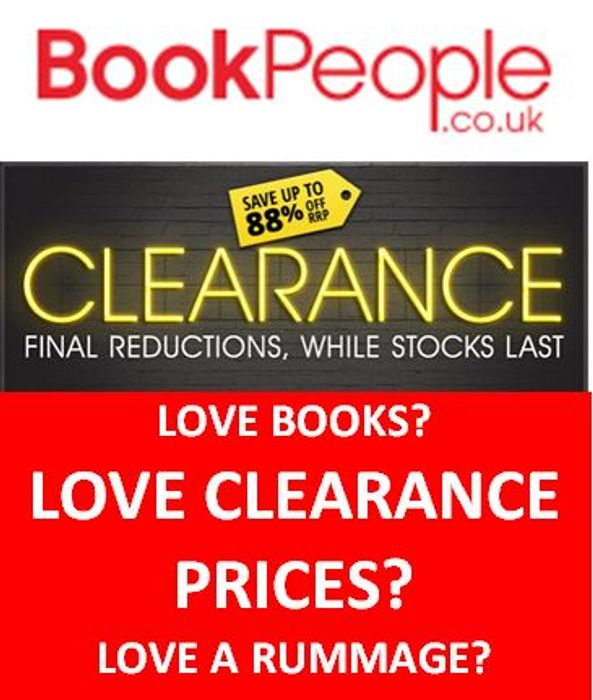 Books...Books...Books...CLEARANCE...CLEARANCE...Got to go...