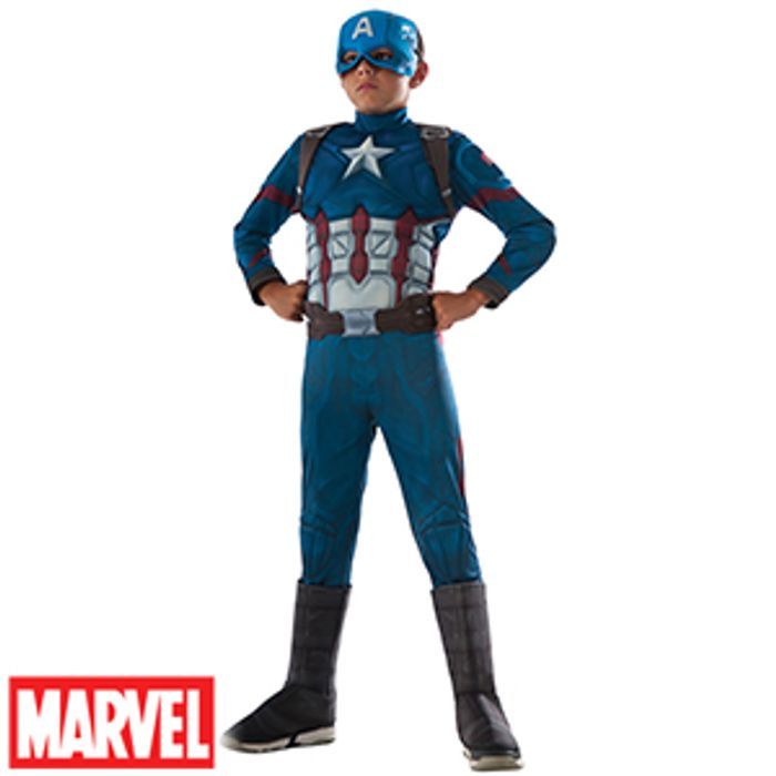 Marvel Civil War: Captain America Muscle Costume