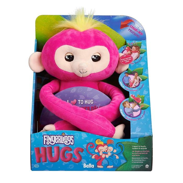 Fingerlings HUGS BELLA Interactive Plush Monkey, £29.99 at Amazon. WATCH VIDEO