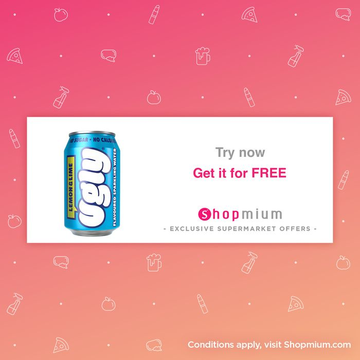 Free Can of Flavoured Sparkling Water