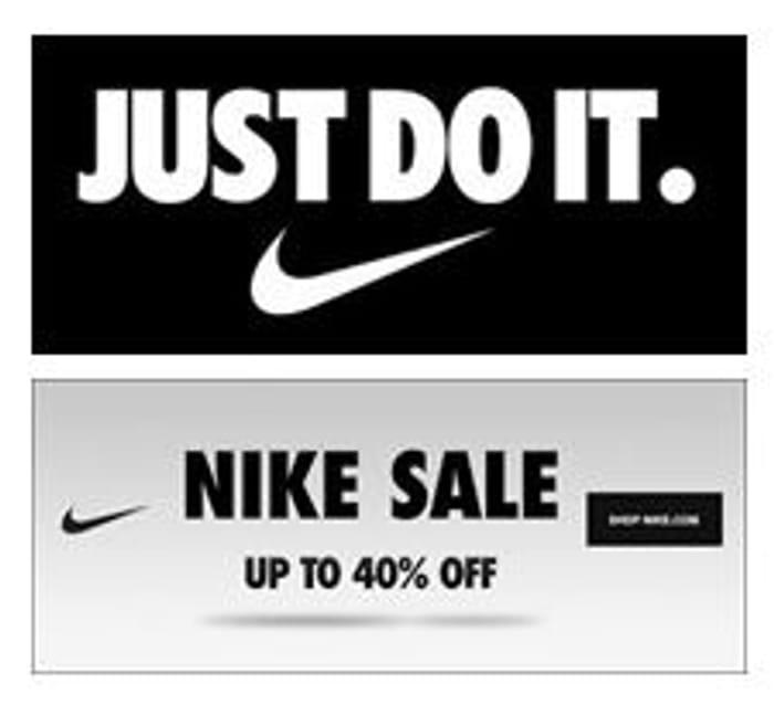 Just Do It! Nike Footwear & Clothing 40% off Sale