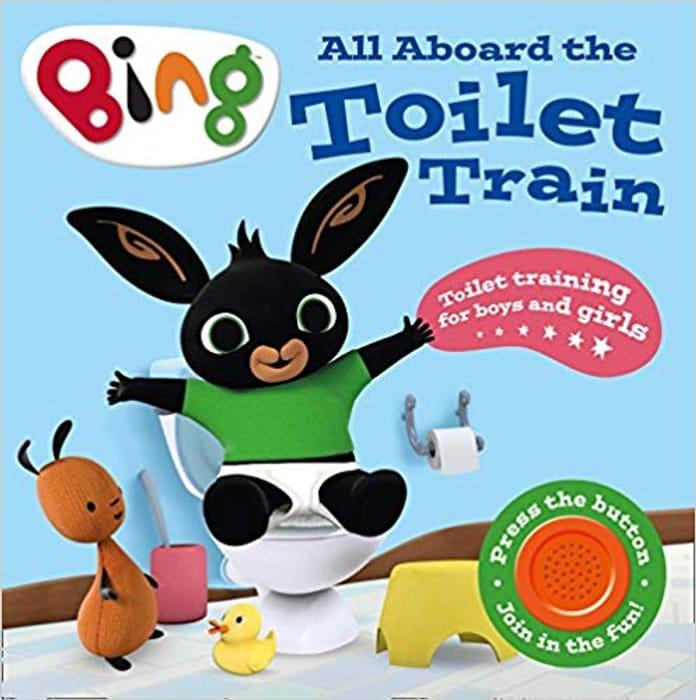 All aboard the Toilet Train!: A Noisy Bing Book (Bing) Board Book Only £2.74