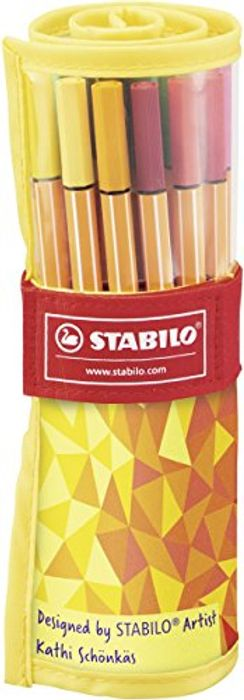 STABILO Fineliner Pens 25 for £8.99