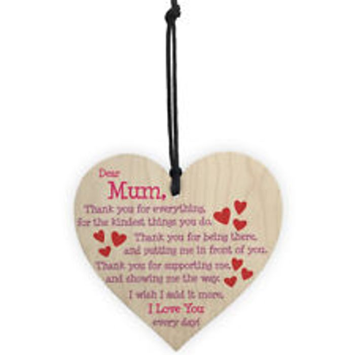 Wooden Heart Plaques Free Delivery