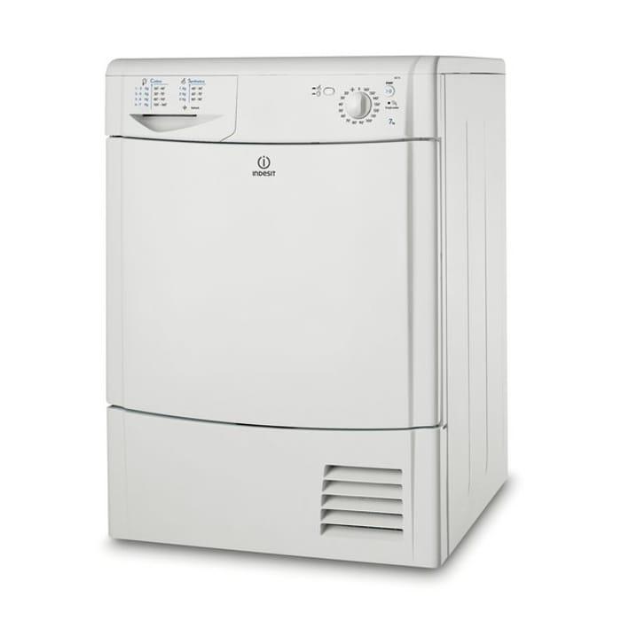 Indesit IDC75 Condenser Tumble Dryer - White