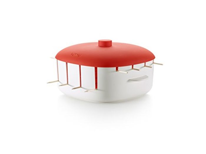 Kebab Maker, Red, 8-Piece