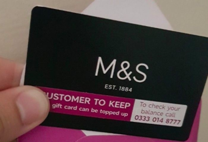 Earn a £2 M&S Voucher for Survey