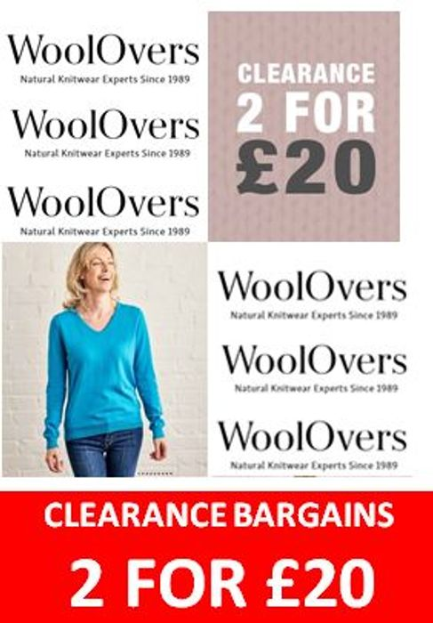 CLEARANCE JUMPERS & CARDIGANS - 2 for £20! Awesome Deal!