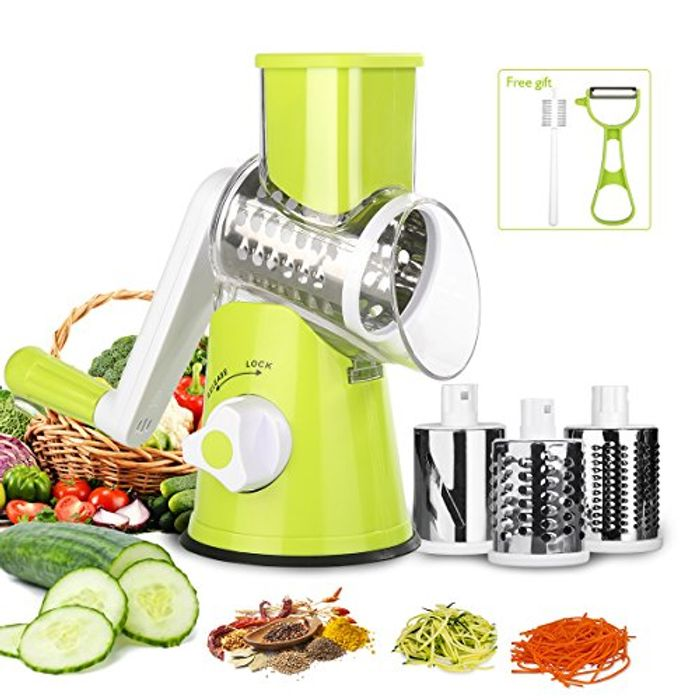 Vegetable Slicer –3 Blades Multi-Function