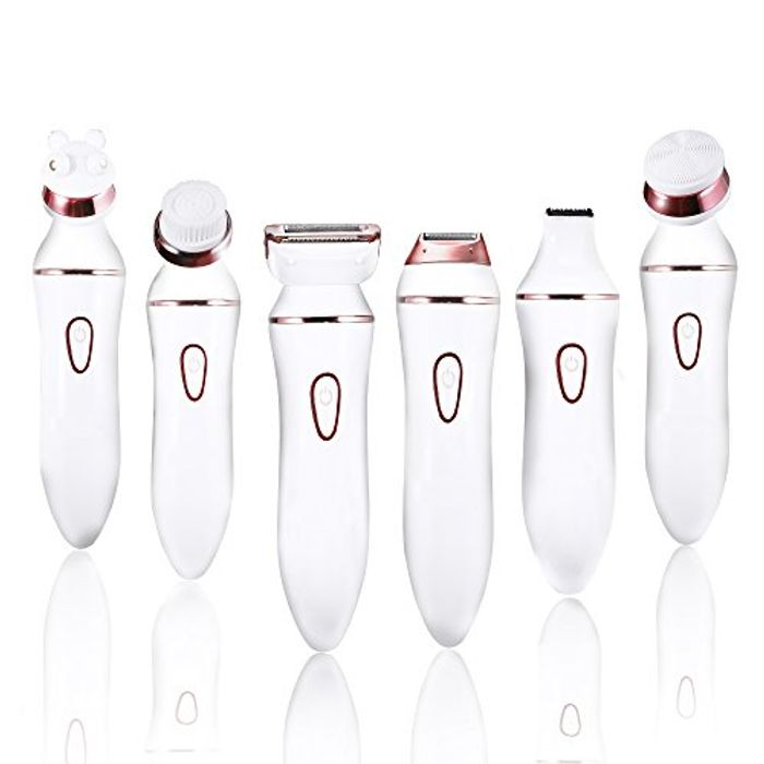 Ladies Electric Shaver, 6 in 1