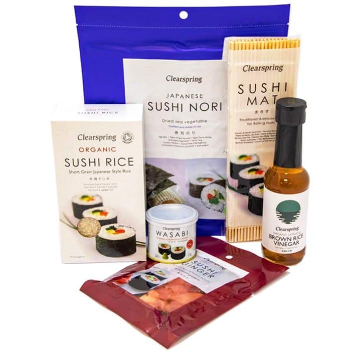 25% off Our New Vegan Sushi Kit