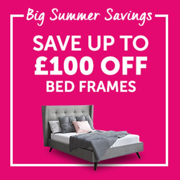 Up to 50% off in the Bensons for Beds Half Price Sale