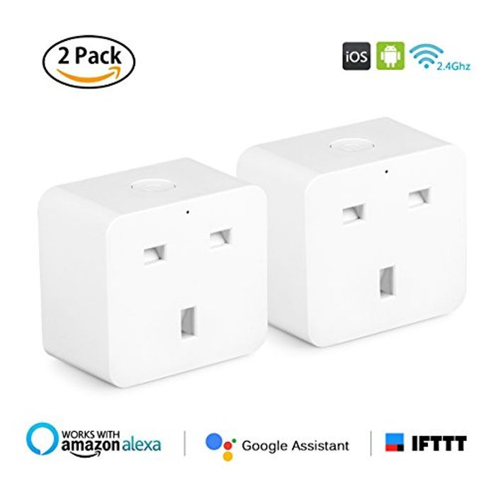 Amazon Alexa Smart Wifi Plugs - Only £12.80