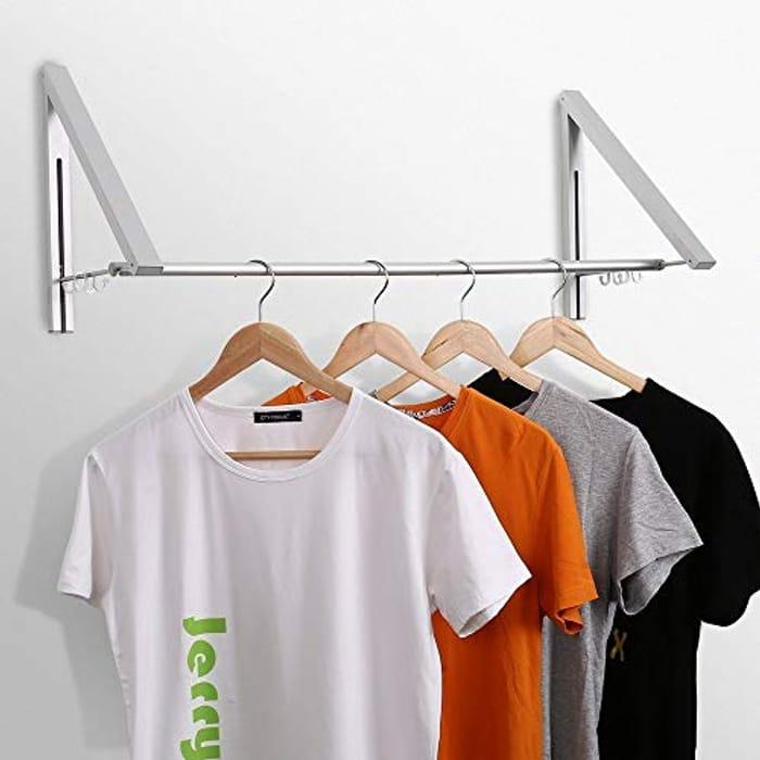 Retractable Clothes Hanger Racks (2017 NEW Super Light 2)