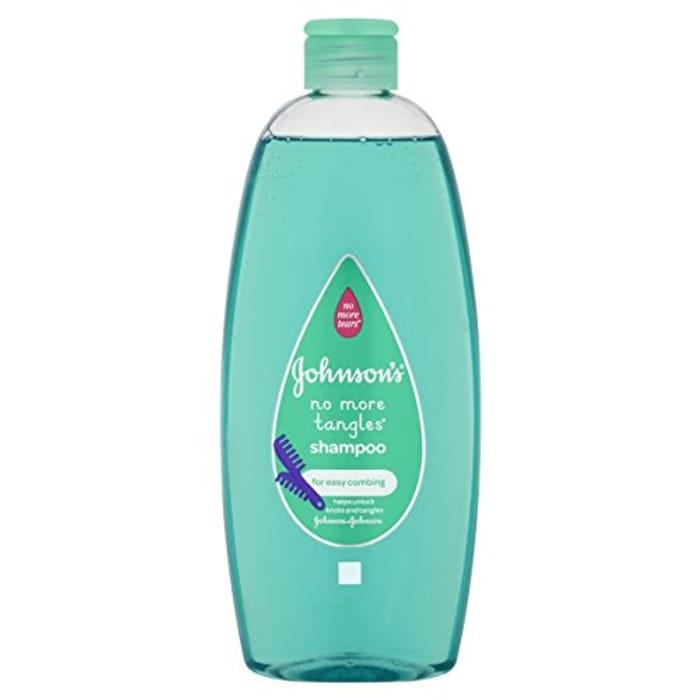 Johnson's No More Tangles Baby Shampoo, 500 Ml