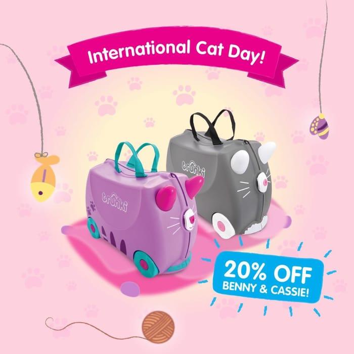20% off Cat Trunki