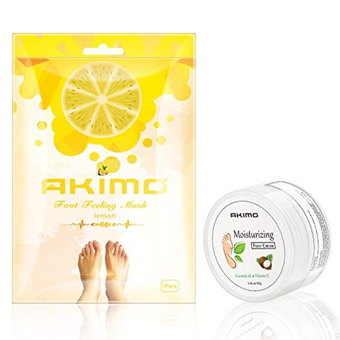 50% off -- Exfoliating Foot Peel Mask and Moisturizing Cream
