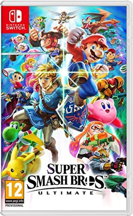 Super Smash Bros - Ultimate (Nintendo Switch) Pre-Order at Amazon UK