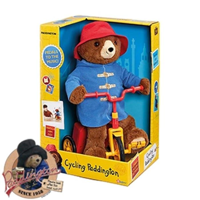Cycling or Dancing Paddington Bear