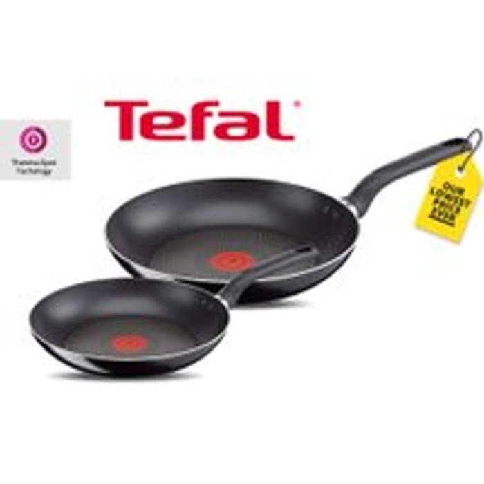2pc Tefal Non-Stick Frying Pan Set