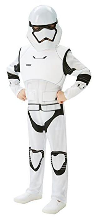 Rubie's Official Child Star Wars Stormtrooper Deluxe Costume - Medium
