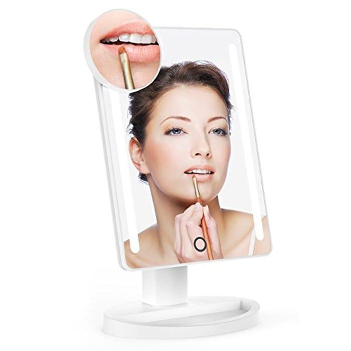 LED Vanity Mirror Lightswim Natural Daylight Illuminated Makeup Mirror £8.955