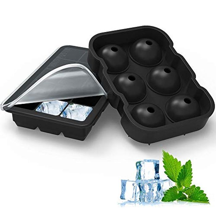 40% off Quality Ice Cube Trays (Large Balls & Cubes)