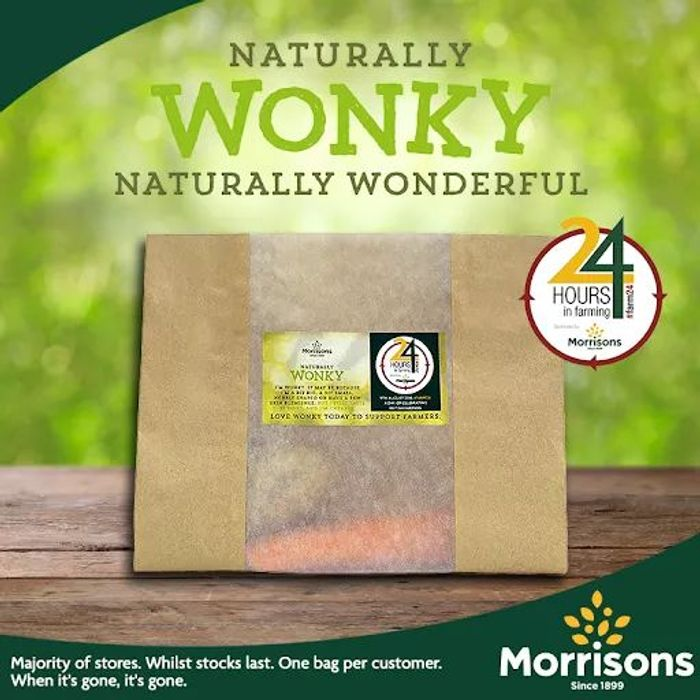 Free Wonky Veg Packs in Morrisons, while stocks last