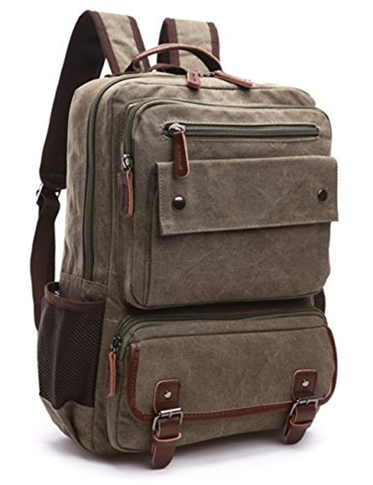 Backpack Laptop Backpack (Army Green)