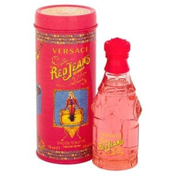 Versace versus Red Jeans Eau De Toilette Spray 75ml