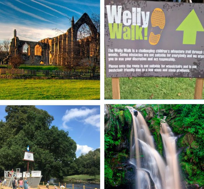 Free Family Day at Bolton Abbey Inc Welly Walk Activity for Kids