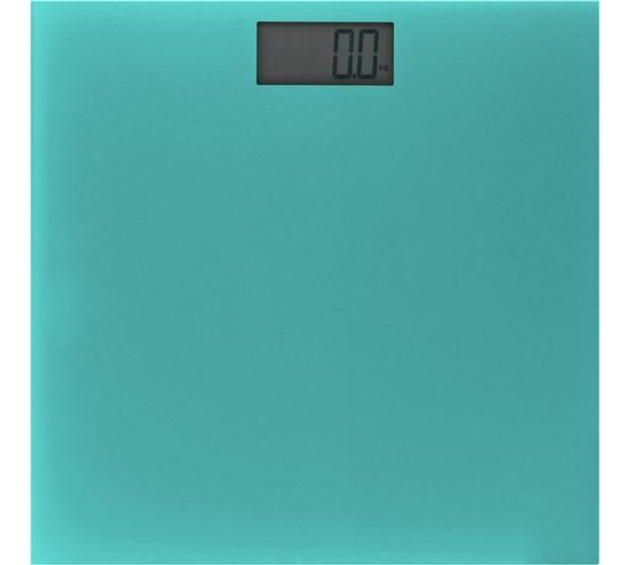 ColourMatch Electronic Scales - Teal Reduced from £11.99 to £5.99!