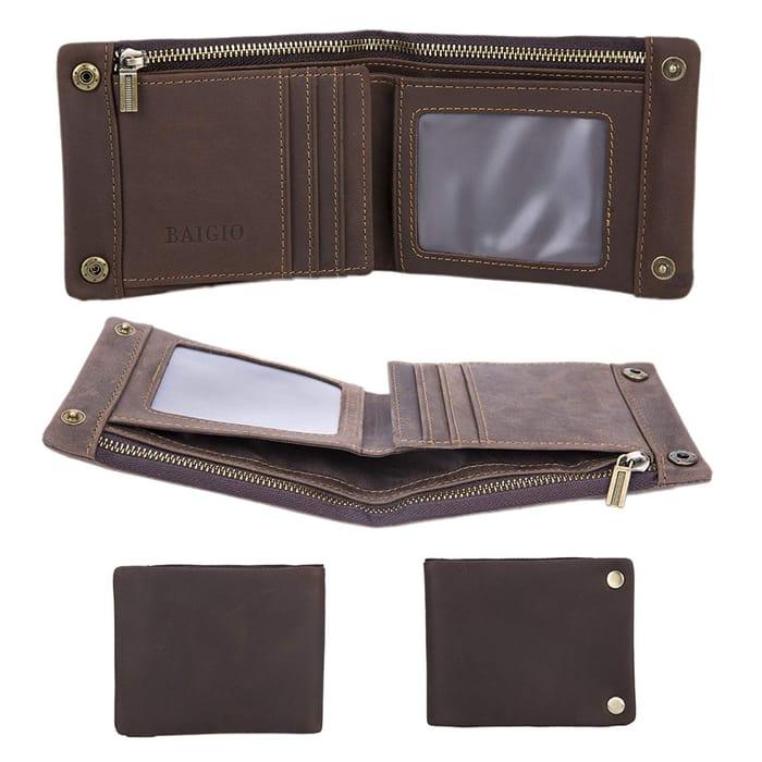 QUICK! Genuine Leather Wallet For £4.36 Delivered!