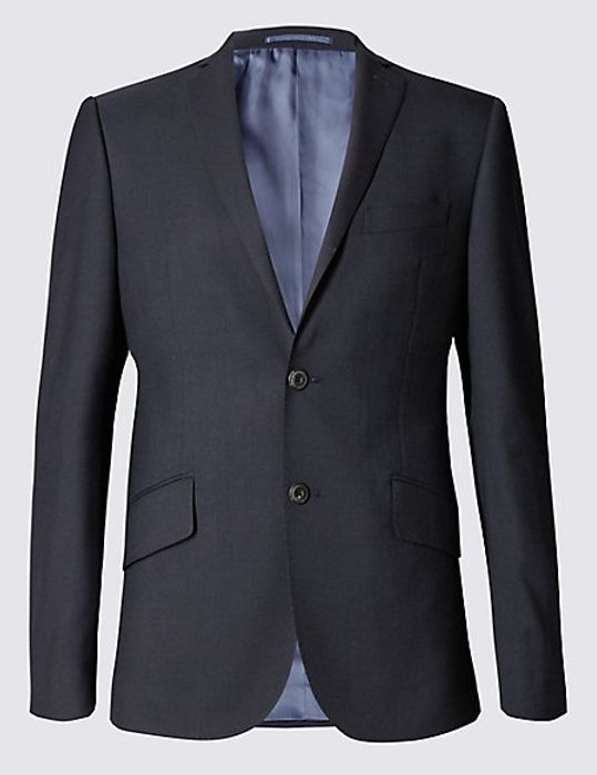 90% off to Big & Tall Navy Slim Fit Wool Jacket