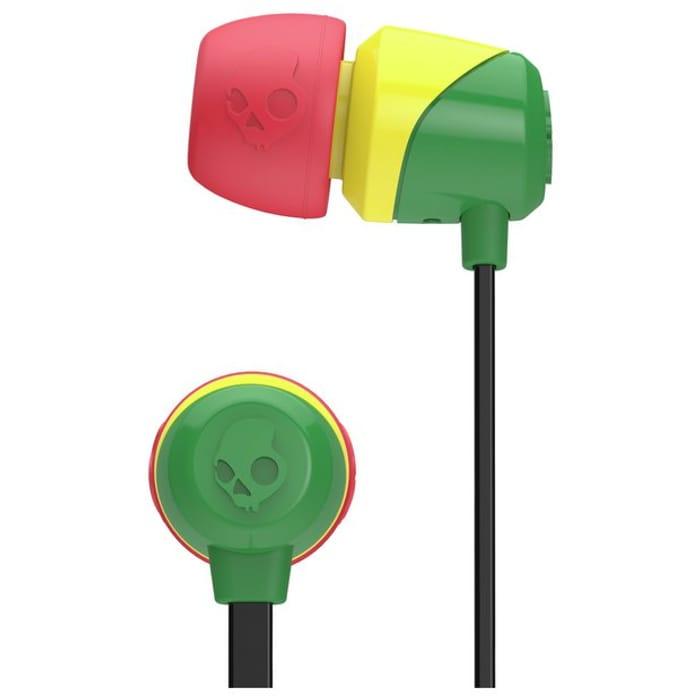 Skullcandy Jib In-Ear Headphones - Rasta