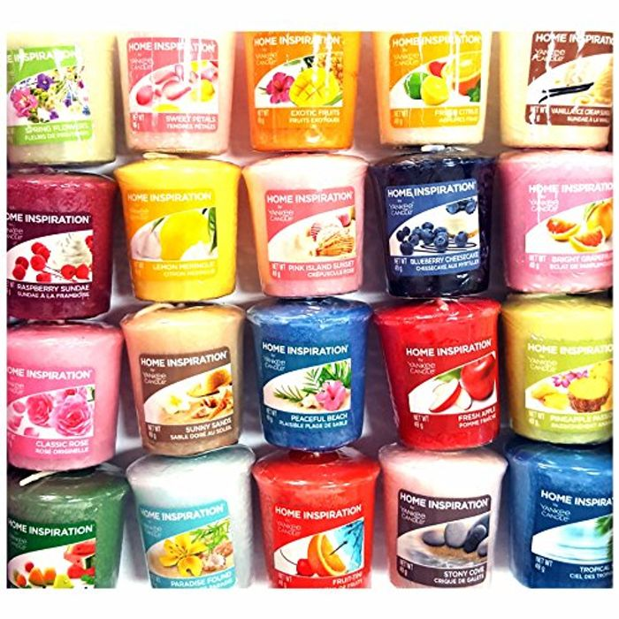 12 X Home Inspiration Official Yankee Candle Votive