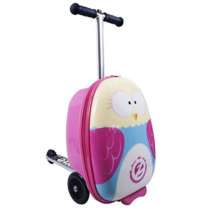 Is it a Suitcase? Or a Scooter? BOTH?! I WANT ONE! *4.9 STARS* Suitcase Scooter