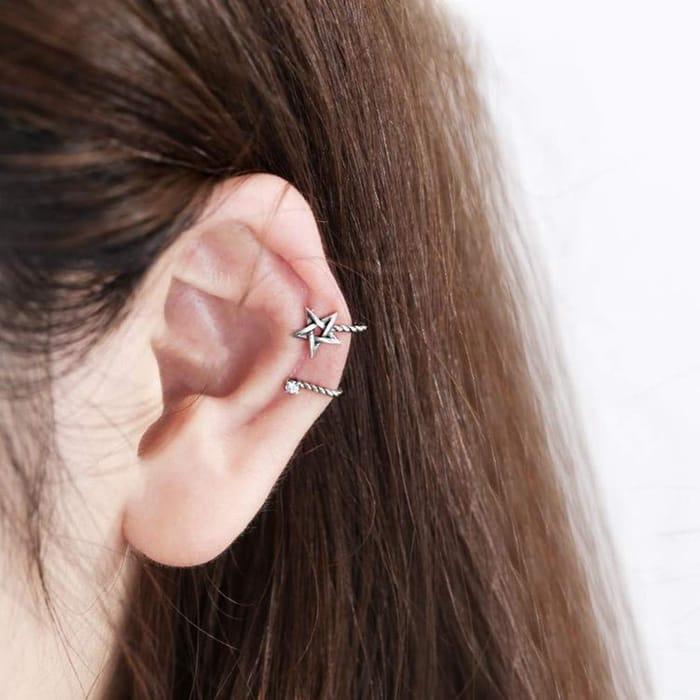 Cuff Earrings.