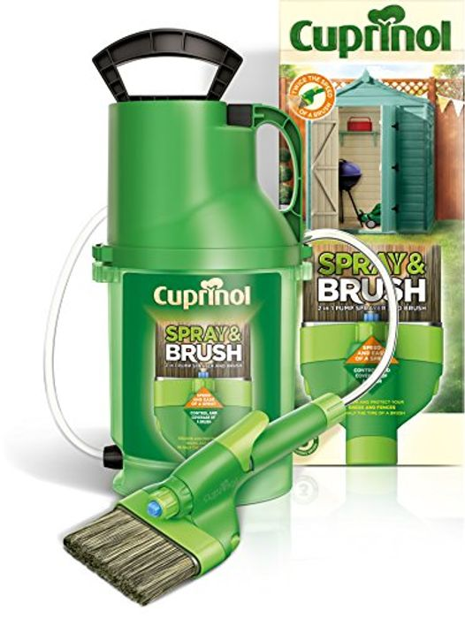 Cuprinol MPSB 2in1 Shed & Fence Paint Sprayer Used like New Less than Half Price