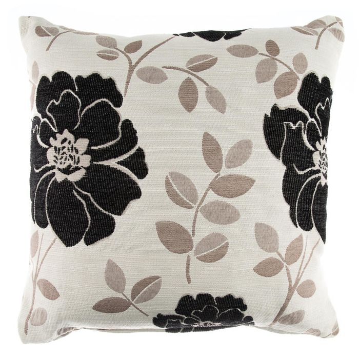 Luciana Large Chenille Flower Cushion