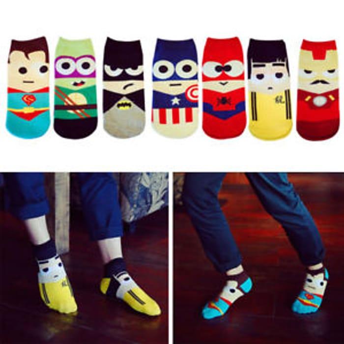 Boys Character Socks Free Del