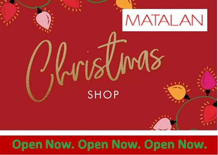 Matalan Christmas Shop is Now LIVE. It's a wrap!